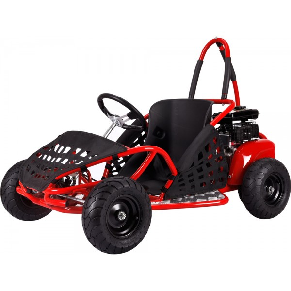 Mototec Off Road Go Kart 79cc Red Great American Toy Company