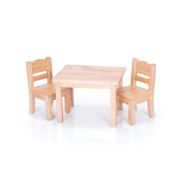 Doll Table U0026 Chair Set Natural