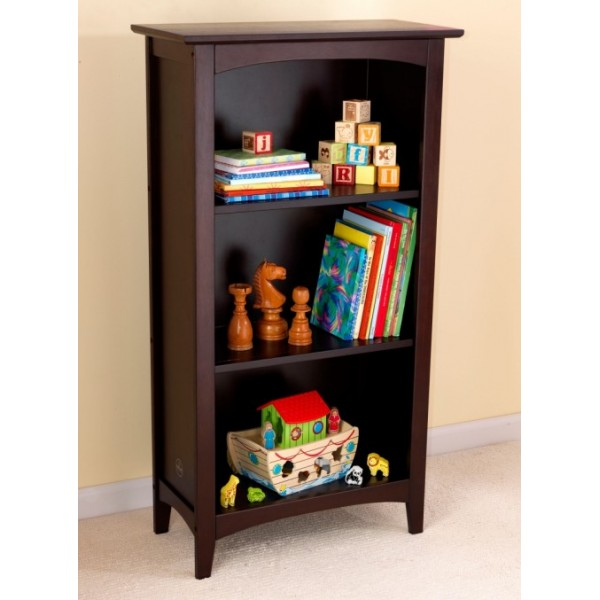 lowes com sauder pd wood bookcase shop three jamocha shelf at